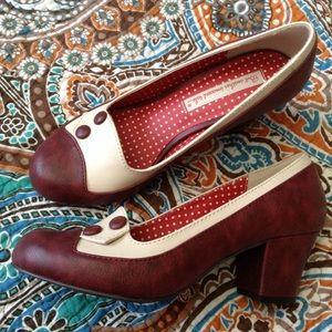 vintage inspired BAIT spats look low heels 8